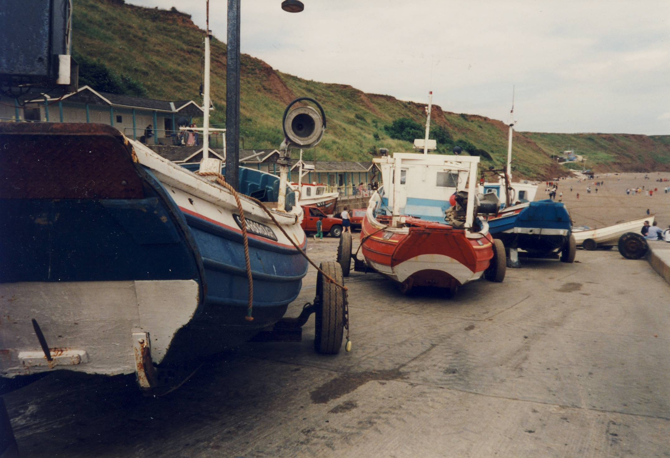 Filey Coble landing